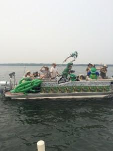 T -Rex 2015 Boat Parade Winner